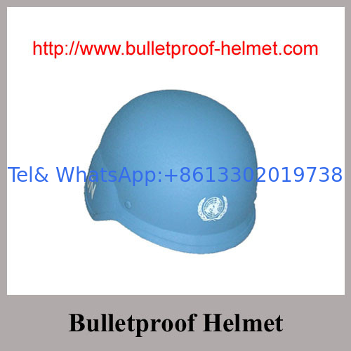 NIJ IIIA Boltless PASGT Aramid  Fabric UN Blue Bulletproof Helmet