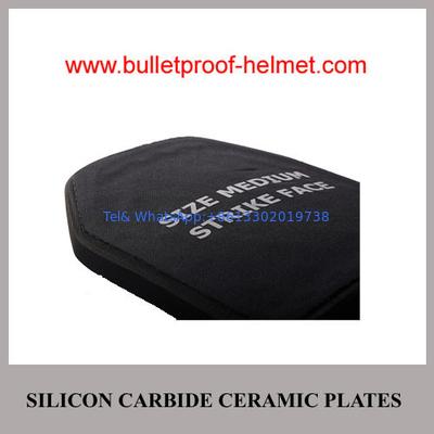 China Wholesale Cheap China Army NIJ IV Police Ballistic Silicon Carbide Ceramic Plate distributor